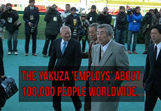 cool facts about the yakusa