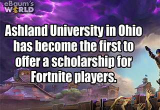 cool fact about playing fortnite