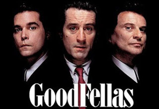 ray liotta robert deniro and joe pesci from the cover of Good Fellas