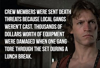 facts about the movie The Warriors