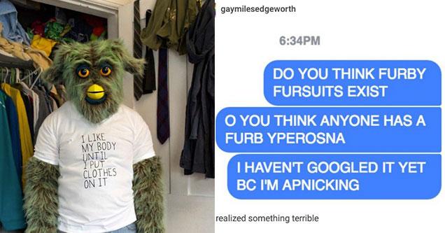 furby furry guy is creepy