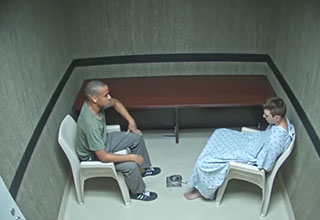 Nikolas cruz and his brother talk in jail