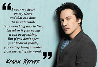 why Keanu Reeves is the best person in hollywood