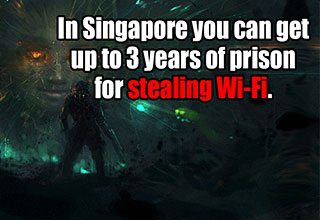 crazy facts about stealing wifi