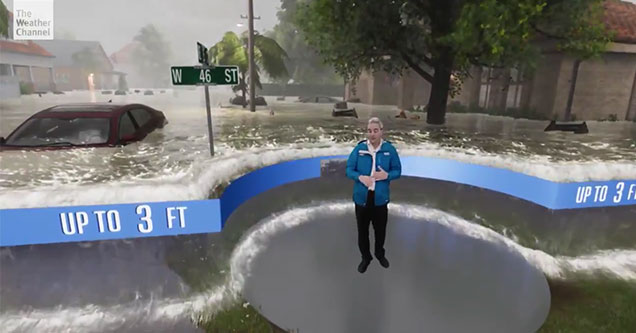 weather channel video about Hurricane Florence