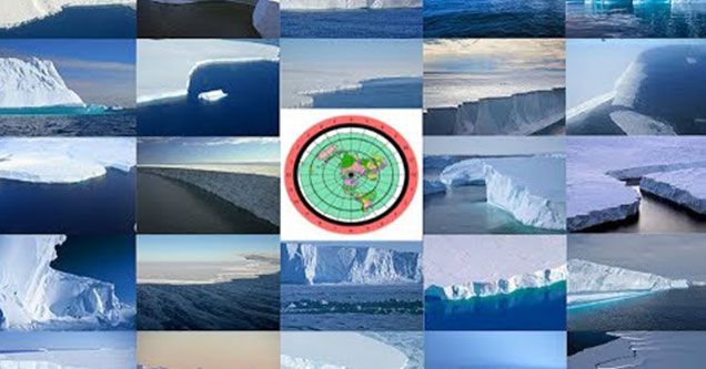 images of ice walls in antartica