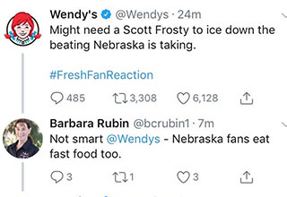 wendy's twitter is back to roasting people online