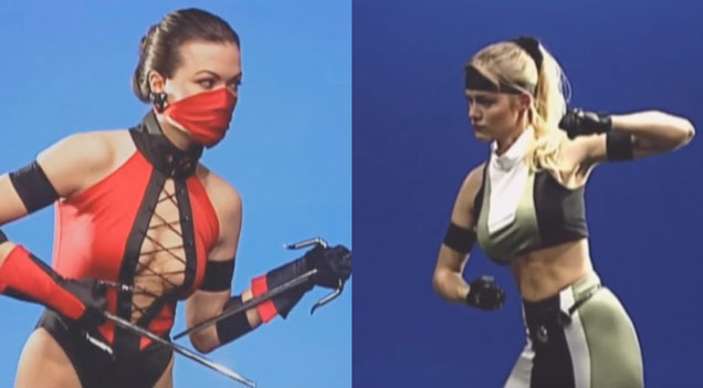 Mortal Kombat 3 Behind The Scenes Footage Of The Original