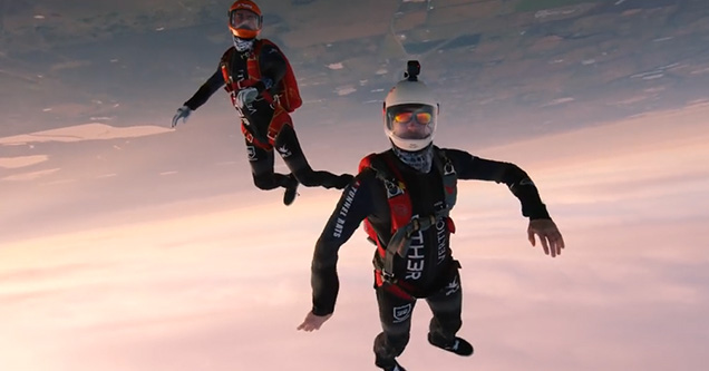 Man Takes 25k Camera Skydiving That'll Make You Wanna Jump Out a Plane
