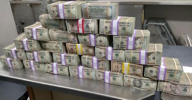 a stack of one billion dollars on a table