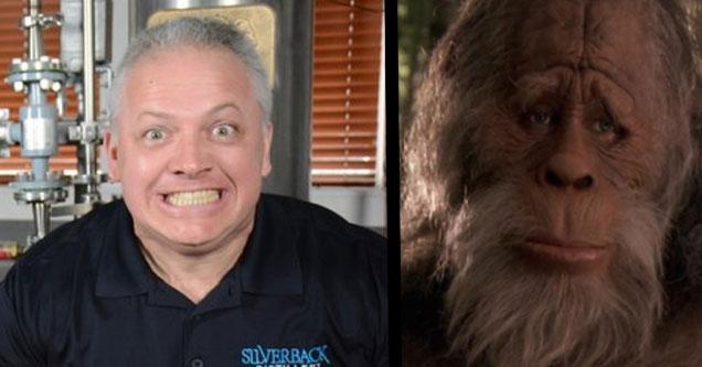 Denver Riggleman US Congressman. Sad Bigfoot.