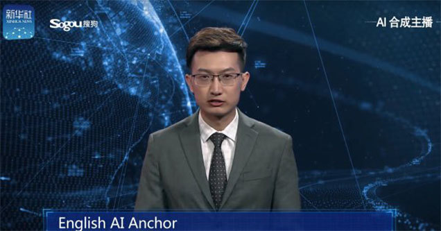 The AI anchor from China.