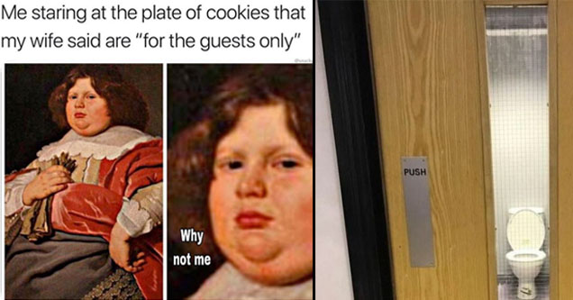 meme about being a fatty and a toilet.
