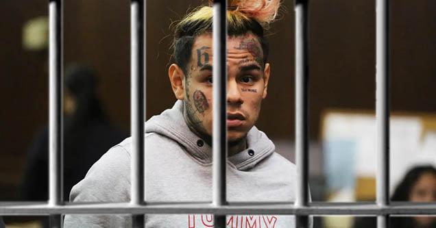 Tekashi 69 going to jail.