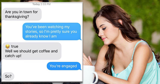 24 Texts Shutting Down Thirsty Exes