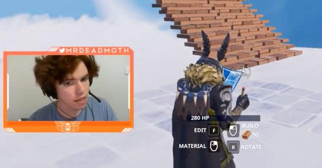 MrDeadMoth streaming fortnite