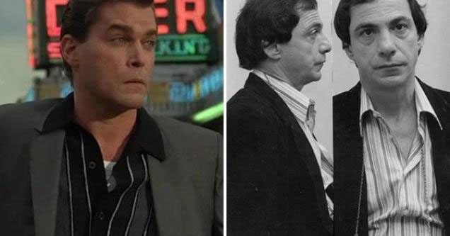Ray Liotta playing Henry Hill