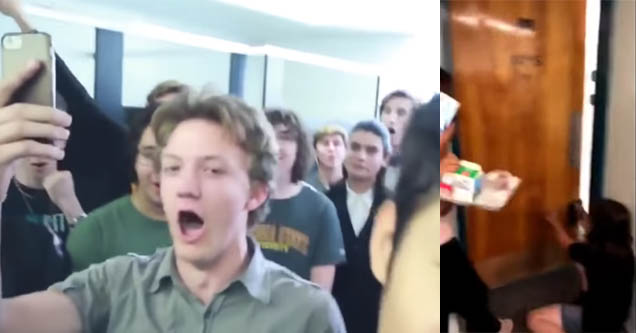 80 Dudes in a Bathroom Sing the Halo Theme Song as Girls