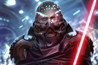 Darth Vader reimagined in a new way.