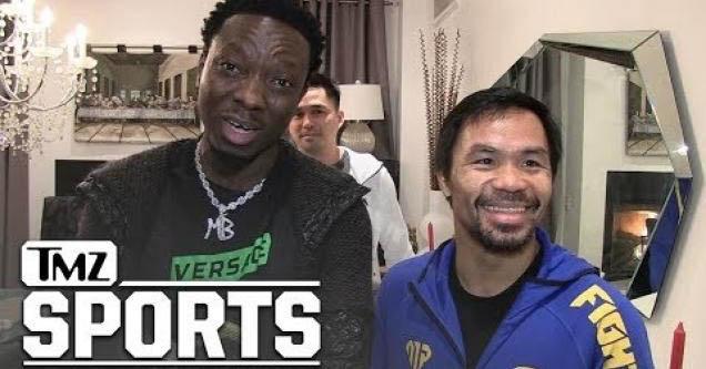 Manny Pacquiao getting anger translator.