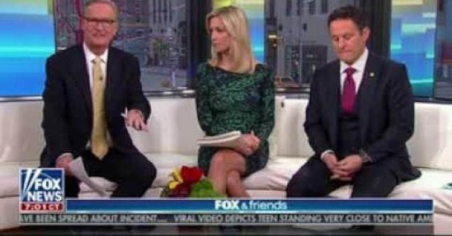 Fox and friends apologizing over graphic.