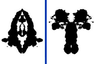 My Results On The Ink Blot Test