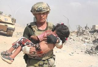 green beret volunteer saves child from isis