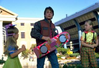 back the the future hover board