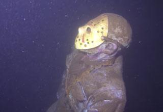 Someone Hid a Statue of Jason Voorhees At the Bottom of Camp Crystal Lake
