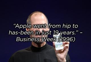 bad prediction about apple