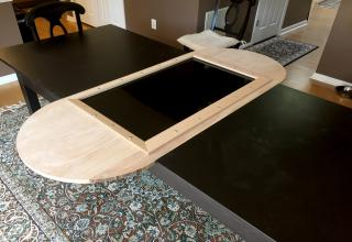 Merveilleux A Guy Wanted To Make A Gaming Table/leaf For His DnD Group. We Start With  The Finished Project So Here It Is!