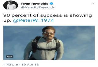 ryan reynolds twitter