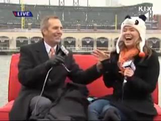 Bird Craps on News Anchor During Telecast view on ebaumsworld.com tube online.