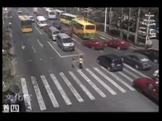 Boy Gets Hit By Bus view on ebaumsworld.com tube online.