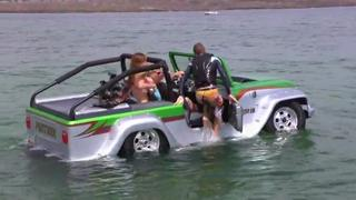 Fastest Amphibious Car in the World view on ebaumsworld.com tube online.
