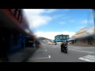 Street Race Motorbike Crash/Explosion view on ebaumsworld.com tube online.