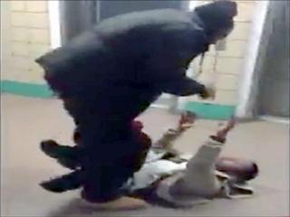 Pervert Beat Up For Sexually Harassing Girl view on ebaumsworld.com tube online.
