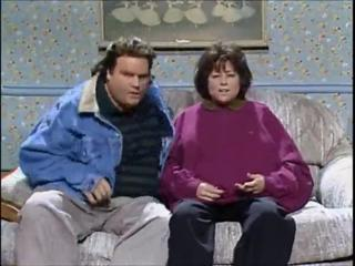 Chris Farley - Tom and Roseanne Arnold SNL high quality view on ebaumsworld.com tube online.