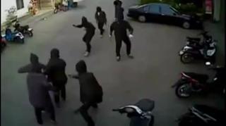 Violent Robbery Twarted By Gun Wielding Business Owner view on ebaumsworld.com tube online.