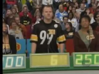 Drew Carey cracks up over the number 69 view on ebaumsworld.com tube online.