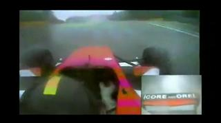 Amazing Close Call At 150 mph Formula view on ebaumsworld.com tube online.