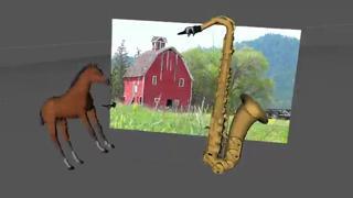 Saxophone Horse Goes Crazy view on ebaumsworld.com tube online.