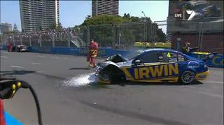 An early Stall creates Havoc during the RACE START!! view on ebaumsworld.com tube online.