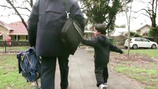 Five year old gets a ball and a cake for his birthday... view on ebaumsworld.com tube online.