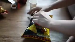 LPT How to open a bag of snacks - the right way view on ebaumsworld.com tube online.