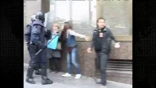 Boy Attacked by Police In Spain view on ebaumsworld.com tube online.