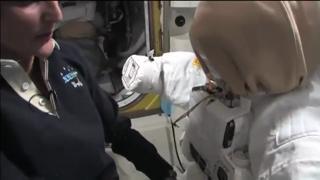 Space Station Commander Provides Tour of Orbital Laboratory view on ebaumsworld.com tube online.