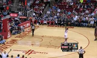 James Harden High Fives Invisible People After Free Throws view on ebaumsworld.com tube online.