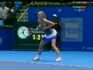 Caroline Wozniacki Imitates Serena Williams view on ebaumsworld.com tube online.