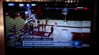 Tyree Graham Curses on ESPN OTL Live view on ebaumsworld.com tube online.
